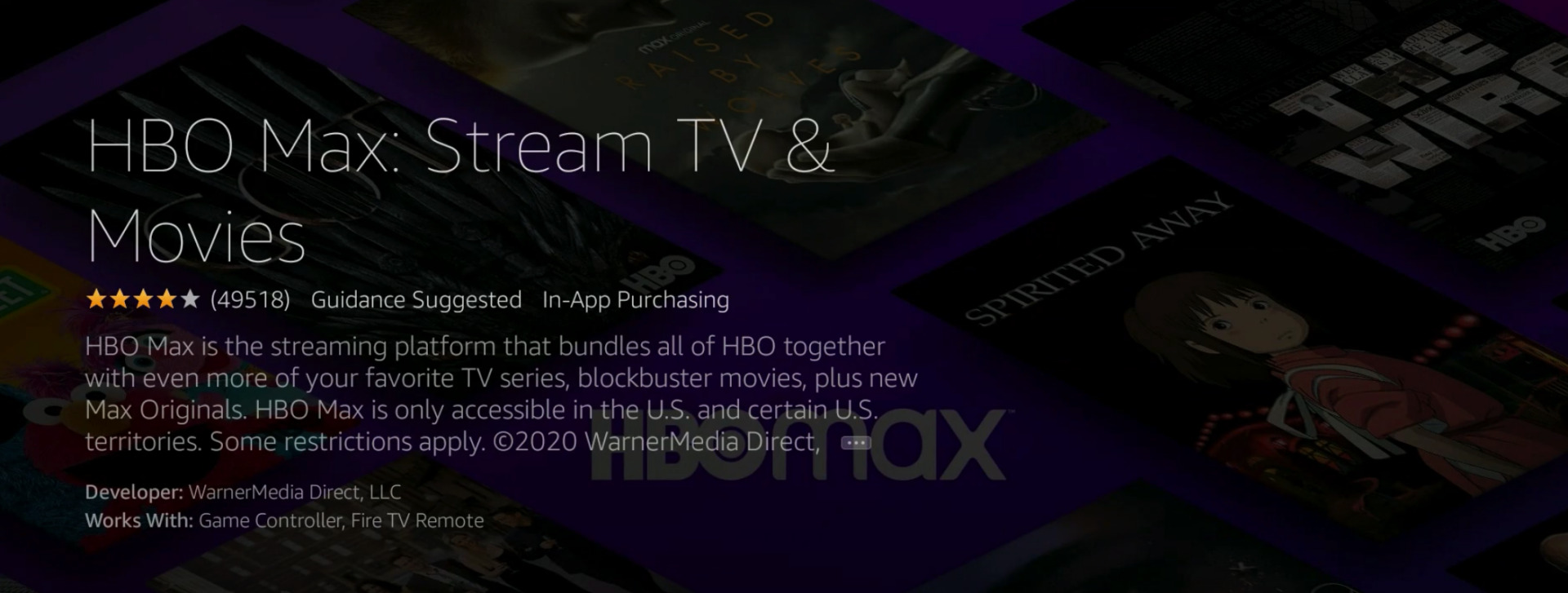 HBO Max Ad
